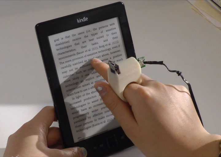FingerReader: Revolutionary Ring To Read The Books To The Blind-