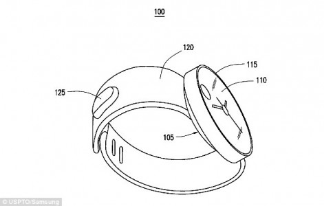 Gesture controlled wrist watch