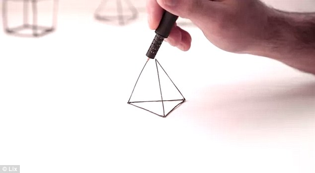 Lix's 3D Printing PEN Enables You To Draw 3D Objects In Air-3