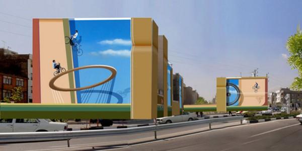 Mehdi Ghadyanloo An Urban Artist Turns Streets Of Tehran Into Art Gallery-17