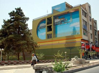 Mehdi Ghadyanloo An Urban Artist Turns Streets Of Tehran Into Art Gallery-2