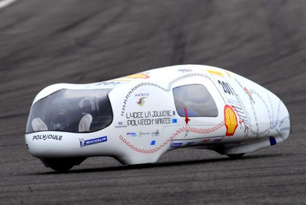 Shell's Fuel efficient car
