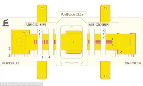 Origami Microscope