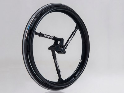 SoftWheel: A Revolutionary Shock Proof Wheel For The Wheelchairs-