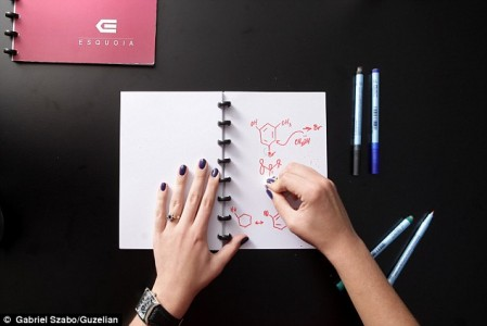 Washable notebook