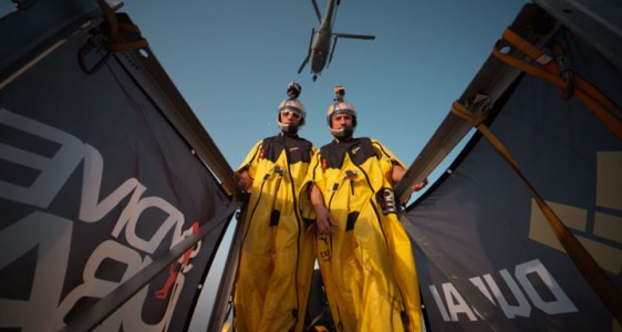 Two French Make World Record By Jumping From World's Highest Tower (Video)-1