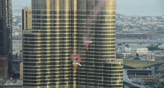 Two French Make World Record By Jumping From World's Highest Tower (Video)-9