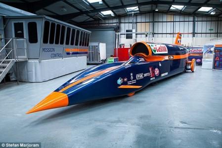 World's fastest car