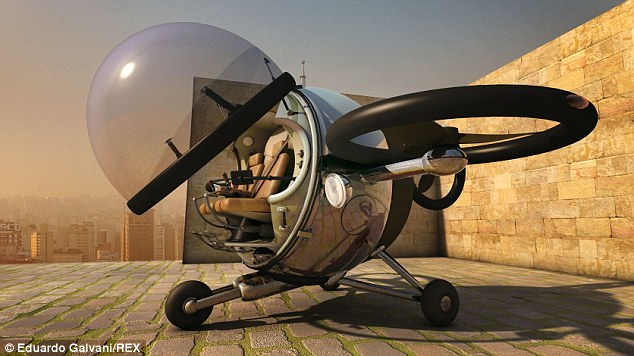 solar powered citycopter