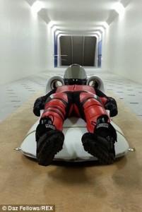 stuntman's sled