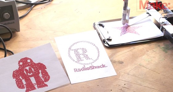 A DIY Mechanical Robotic Arm That Can Draw You Favourite Drawings-1