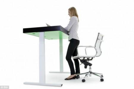 Adjust desk according to your needs