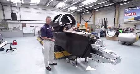 Bloodhound SSC: Discover The Cockpit Of The Supersonic Car-