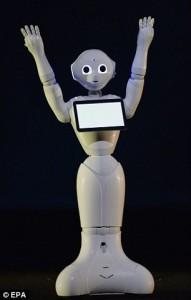 Cracking jokes robot