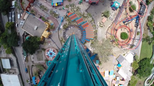 Dare Falcon's Fury Free Fall With A Speed Of More Than 100 km/h-