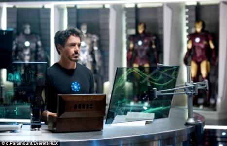 Iron man inspired giant glass