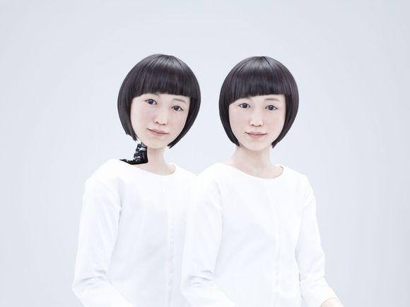 Kodomoroid and Otonaroid- Two japanese human like droids-