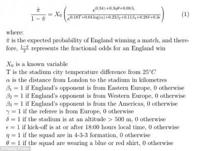 Maathematical derivation of smart football