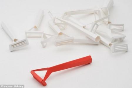 Paper cut razor