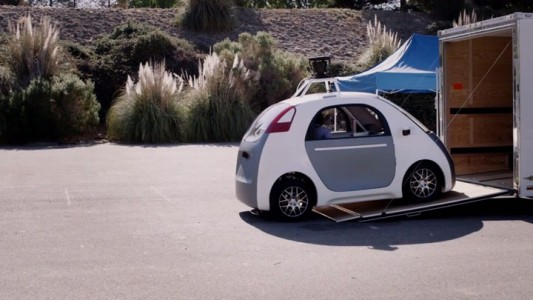 People Experience Google Car Without Steering Wheel For The First Time-3