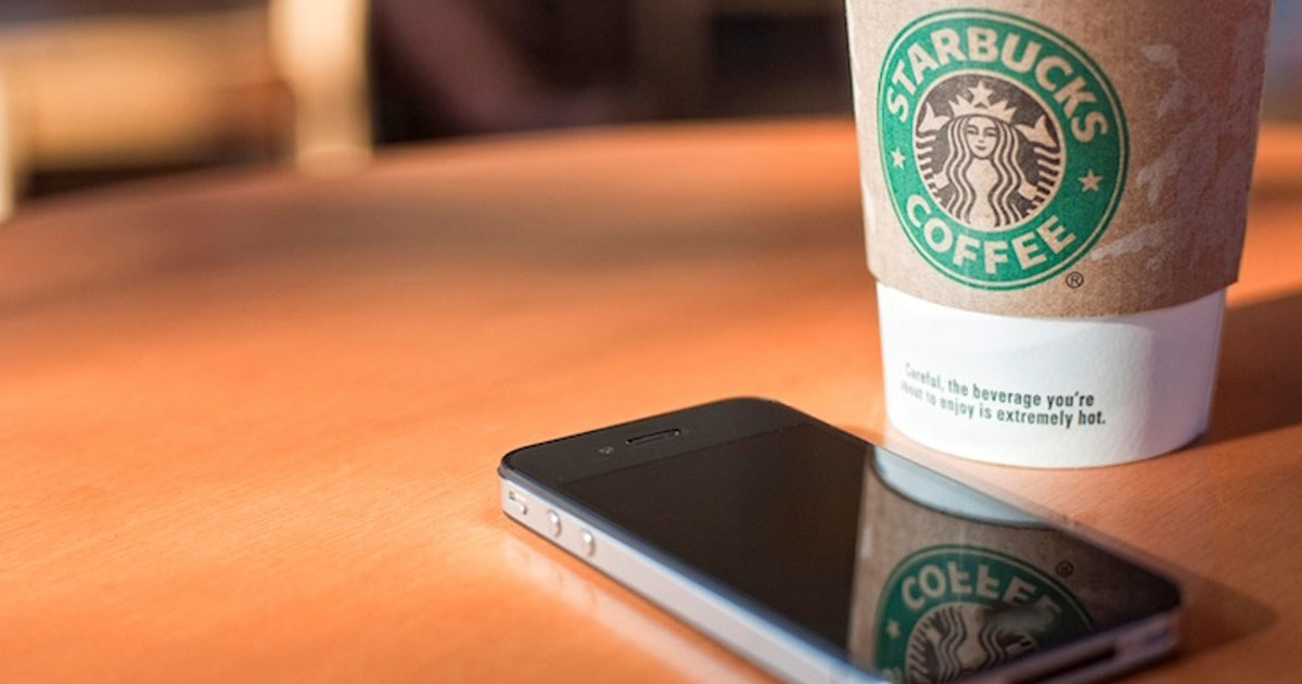Starbucks Installing Wireless Charging Pads Across Its Outlets-