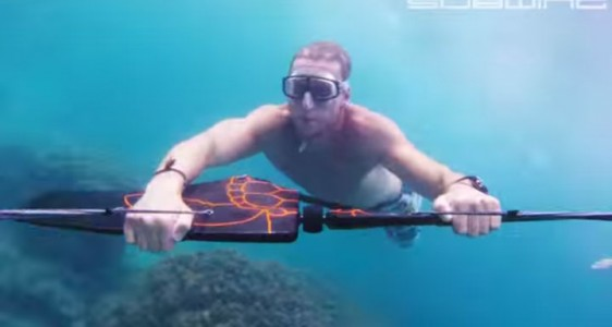 Subwing: A Board That Gives You Sensation Of Flying Underwater-2