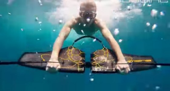 Subwing: A Board That Gives You Sensation Of Flying Underwater-3