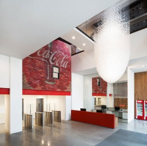 Visit The New Sparkling Coca-Cola Offices In London-8
