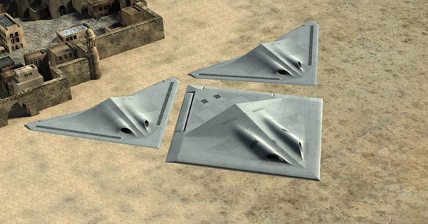3D Printed Drones And Self-Healing Aircraft: BAE Imagines Future of UAVs and 3D printers-1