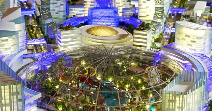 Dubai Plans To Build An Entire City Resort With Self-Regulating Temperature-3