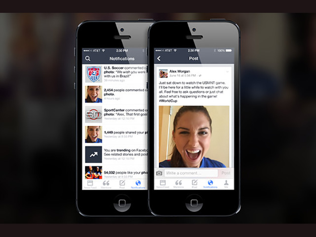 Facebook Mention: A New Application Dedicated To Celebrities-