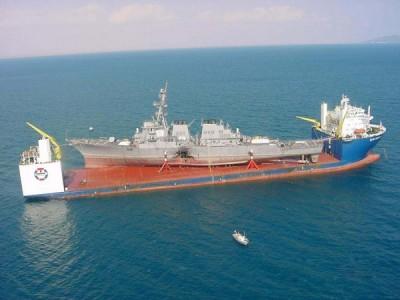 Heavy-Lift cargo ship