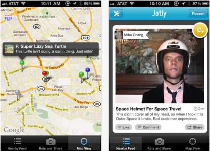 Jotly: A Smartphone That Allows You To Comment And Rate Everything You see-