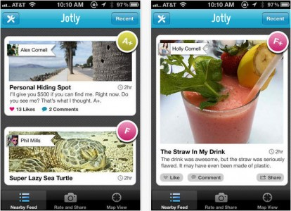 Jotly: A Smartphone That Allows You To Comment And Rate Everything You see-1