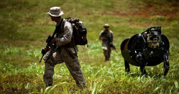 LS3: The Google's Mule Robot Field Tested In RIMPAC 2014 By US Marines-