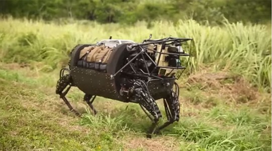 LS3: The Google's Mule Robot Field Tested In RIMPAC 2014 By US Marines-1