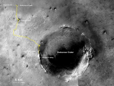 Opportunity Breaks The World Record Of Travelling The Longest Extraterrestrial Distance-2