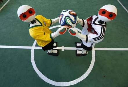 Robocup: A 2014 Football World Cup Of Robots In Brazil-