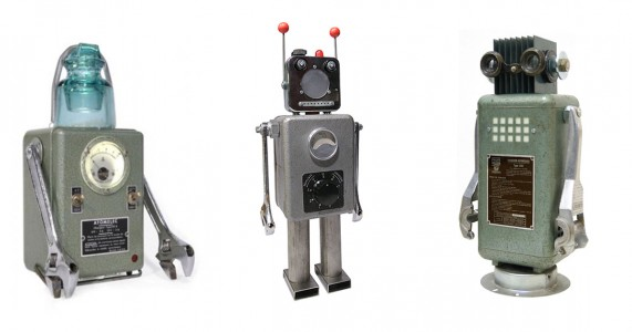 A French Artist Gives New Life To Industrial Parts As Robots-11