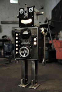 A French Artist Gives New Life To Industrial Parts As Robots-14