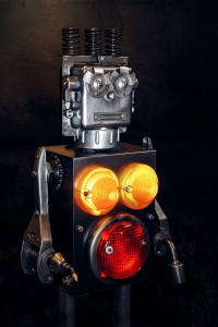 A French Artist Gives New Life To Industrial Parts As Robots-15