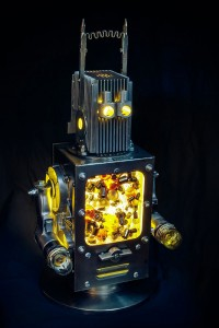 A French Artist Gives New Life To Industrial Parts As Robots-4