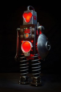 A French Artist Gives New Life To Industrial Parts As Robots-5