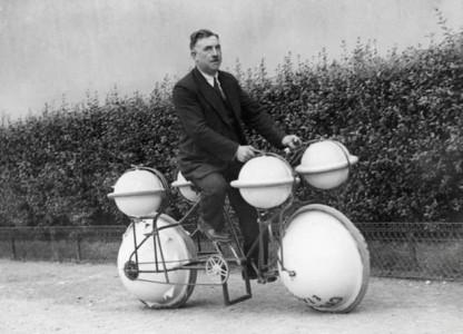 amphibitious bicycle