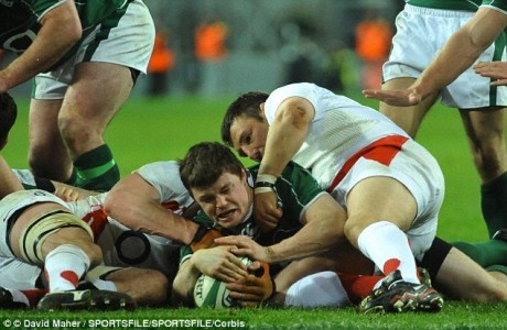 low frequency magnetic fields in rugby ball