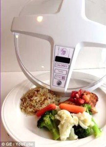 microwave to calculate the calories of food