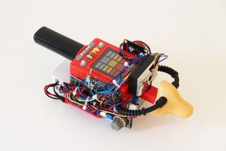 Digioxide: An Apparatus That Transforms Air Pollution Analysis Into A Digital Artwork-