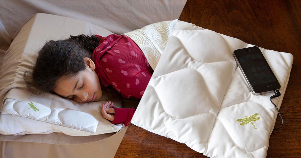 Dreampad: Fall Asleep Listening To Your Favorite Music And Without Disturbing Your Partner-