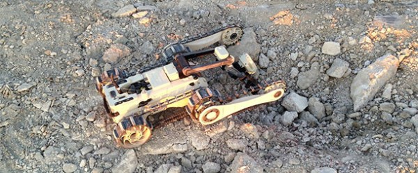 Micro Tactical Ground Robots Of Israeli Army Explore Tunnels In Gaza-1