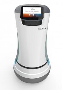 SaviOne: A Futurisic Robot Used By Aloft Hotel California For Room Service-